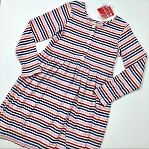Hanna Andersson 130cm Striped Dress